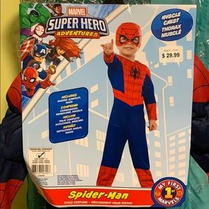 NWT Toddler (2-4) Marvel Spider-Man Costume
